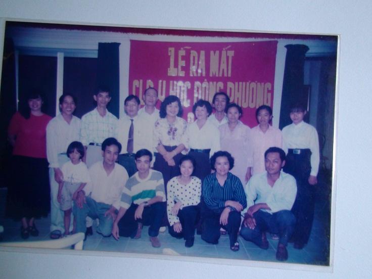 Lễ ra mắt CLB Y Học Đông Phương tại TPHCM năm 1995