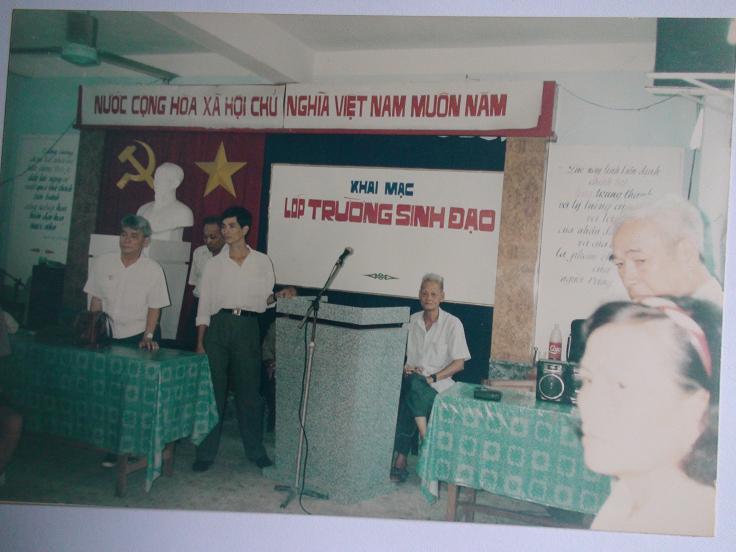 Lương Y Phan Cao Bình đào tạo lớp dưỡng sinh Trường sinh đạo đầu tiên
