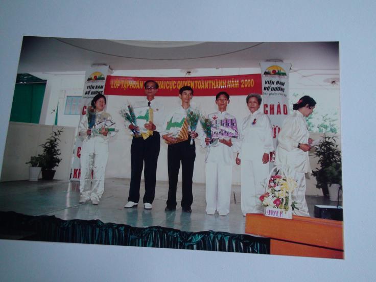 Lương Y Phan Cao Bình, Trưởng ban tổ chức lớp tập huấn Thái cực quyền toàn thành đầu tiên